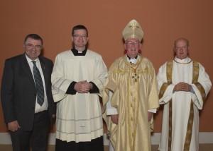 Seán Coll, Fr. Enda Murphy, Cardinal Seán Brady, Deacon Andy Brady